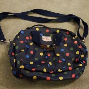 Cath kidston navy polka dot diaper bag.